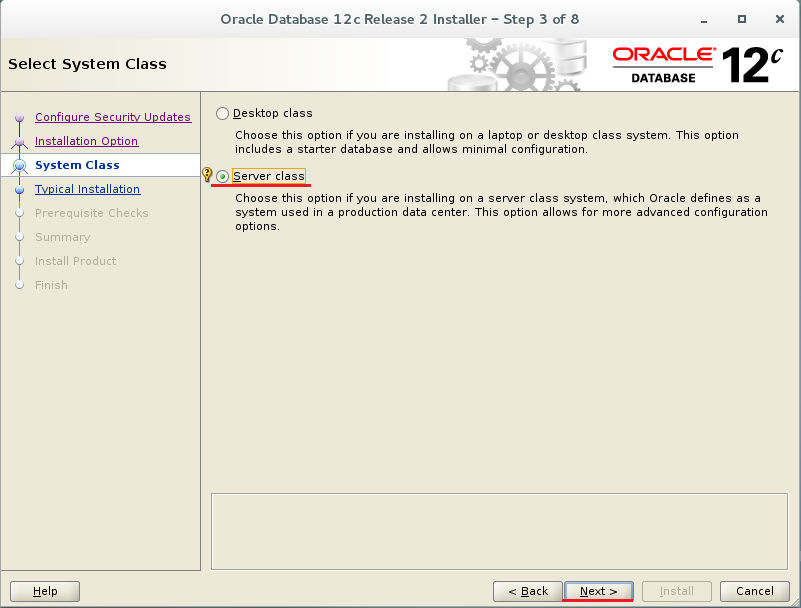 Oracle 12c CentOS 7에 설치 - CURVC ALM Space - Confluence
